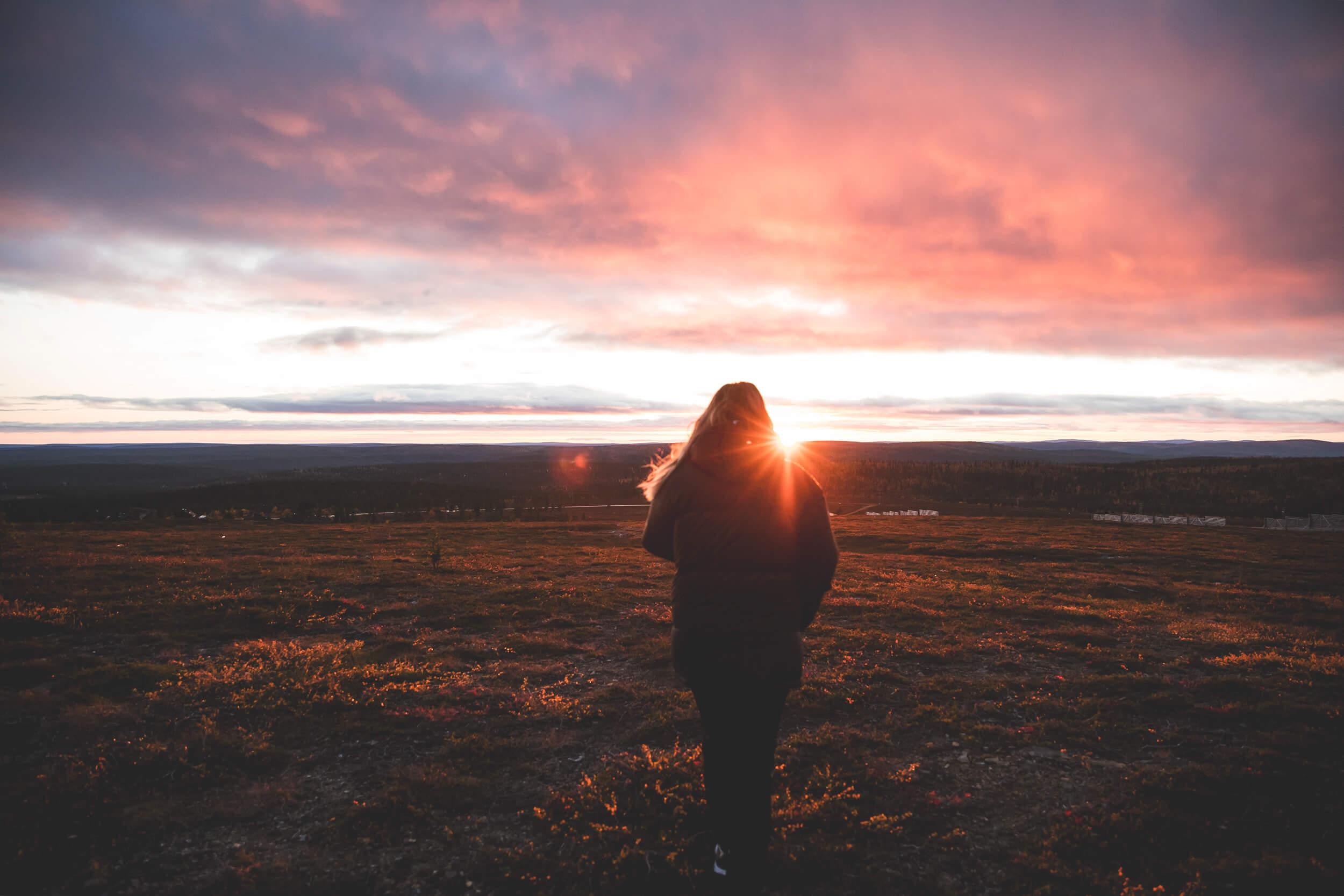Enjoy the beautiful views of arctic nature.