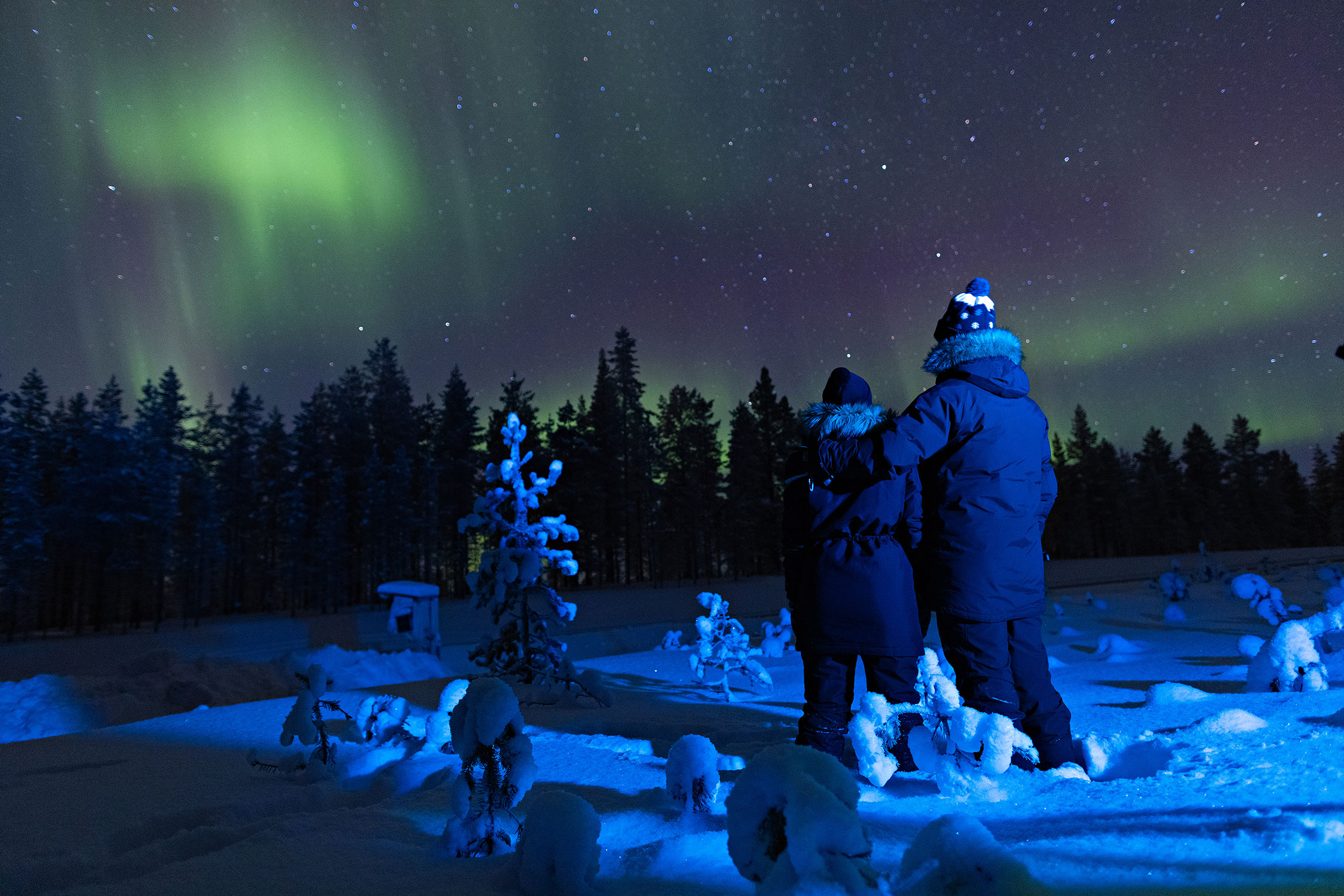 If you are lucky, you might even see the auroras during the autumn months.